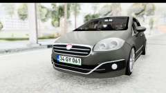 Fiat Linea 2015 v2 Wheels para GTA San Andreas