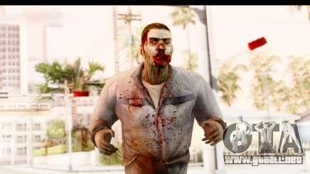 Left 4 Dead 2 - Zombie Worker para GTA San Andreas