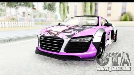 Audi R8 V10 Plus 5.2 FSi 2013 LB Perfomance para GTA San Andreas