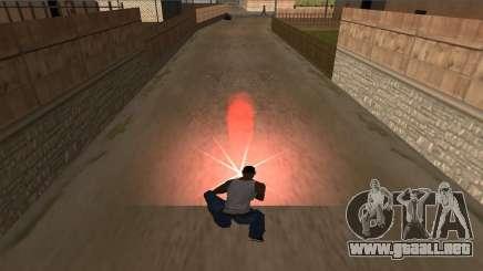 Instale fuego para GTA San Andreas