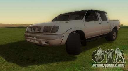 Nissan Frontier пикап para GTA San Andreas