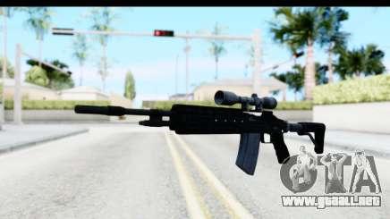 GTA 5 Vom Feuer Marksman Rifle para GTA San Andreas