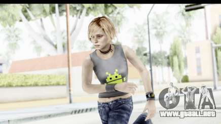 Silent Hill 3 - Heather Sporty Gray Pixel Droid para GTA San Andreas
