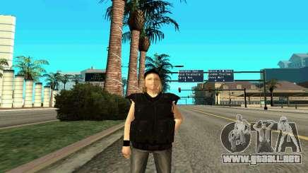 Hembra entrenador de SWAT para GTA San Andreas