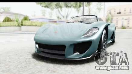 GTA 5 Pfister 811 para GTA San Andreas