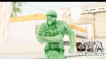 ArmyMen: Serge Heroes 2 - Man v2 para GTA San Andreas