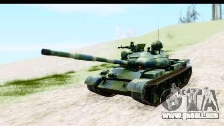 T-62 Wood Camo v3 para GTA San Andreas