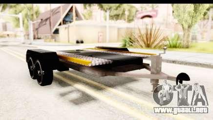 Dacia Duster Pickup Trailer para GTA San Andreas