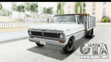 Ford F-350 Farm Truck 1970 IVF para GTA San Andreas