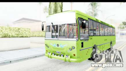 Bus La Favorita Ecotrans para GTA San Andreas