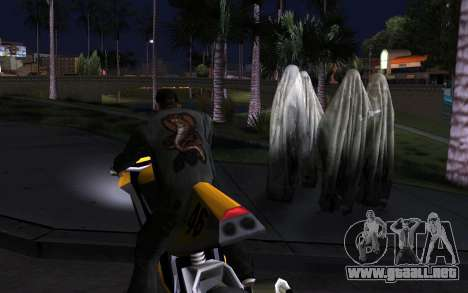 Transparent Ghost para GTA San Andreas tercera pantalla