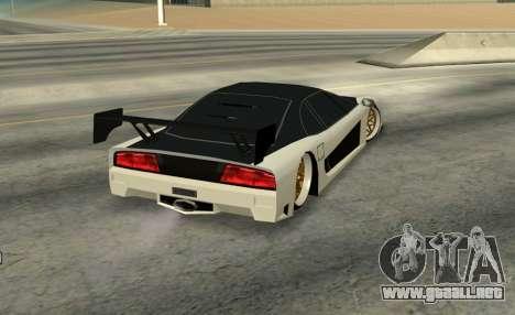 Turismo Major para GTA San Andreas left