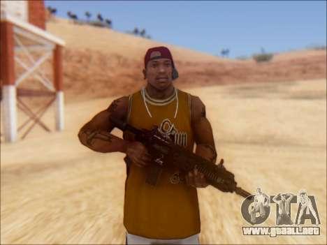 GTA 5 Vom Feuer Carbine Rifle para GTA San Andreas segunda pantalla