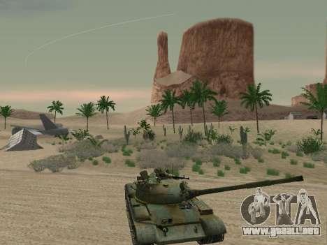 T-62 para el motor de GTA San Andreas