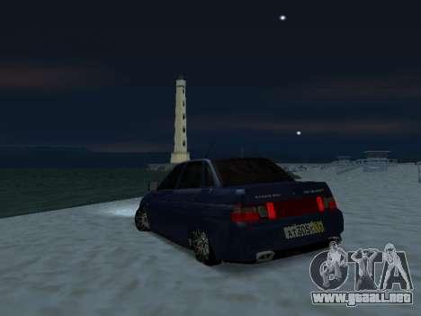 VAZ 2110 Beta Tuning para GTA San Andreas left