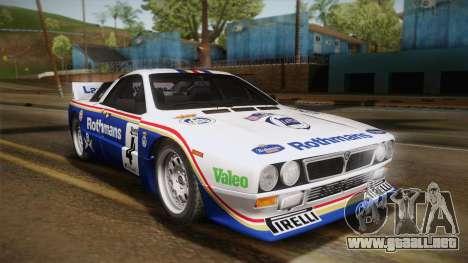 Lancia Rally 037 Stradale (SE037) 1982 IVF PJ2 para la visión correcta GTA San Andreas
