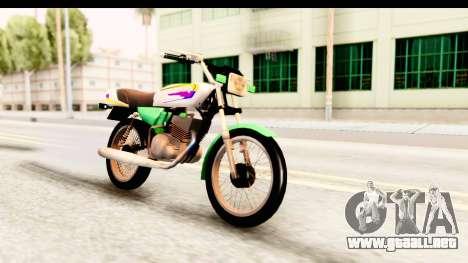 Yamaha RX115 Colombia para la visión correcta GTA San Andreas