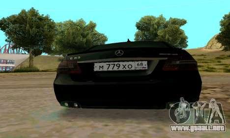 Mercedes-Benz E63 para visión interna GTA San Andreas