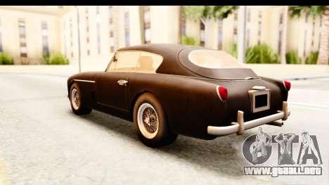 Aston Martin DB2 Mk II 39 1955 para la visión correcta GTA San Andreas