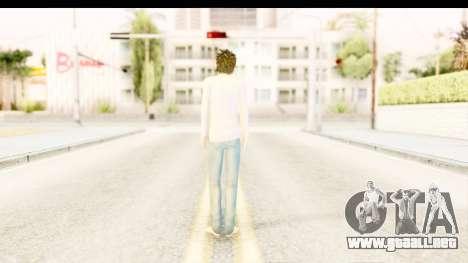 L Lawliet (Death Note) para GTA San Andreas tercera pantalla