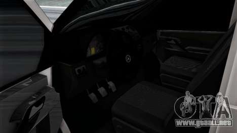 Mercedes-Benz Vito para GTA San Andreas interior