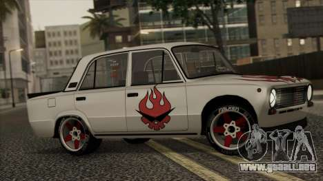 VAZ 2101 para vista inferior GTA San Andreas