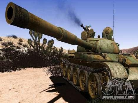 T-62 para GTA San Andreas left