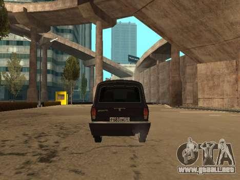 GAZ 310221 para GTA San Andreas vista hacia atrás