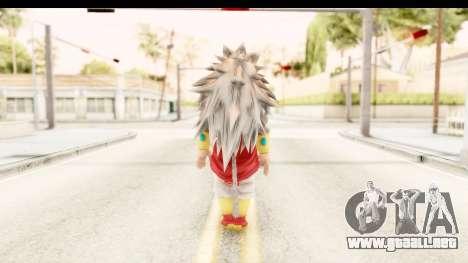 Dragon Ball Xenoverse Broly SSJ5 para GTA San Andreas tercera pantalla