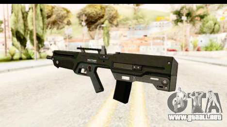 GTA 5 Vom Feuer Advanced Rifle para GTA San Andreas segunda pantalla