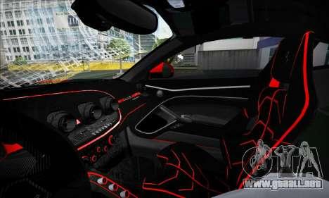 Ferrari F12 Berlinetta para vista lateral GTA San Andreas