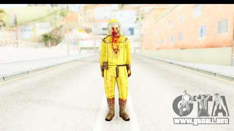 Zombie Radioactivo para GTA San Andreas segunda pantalla