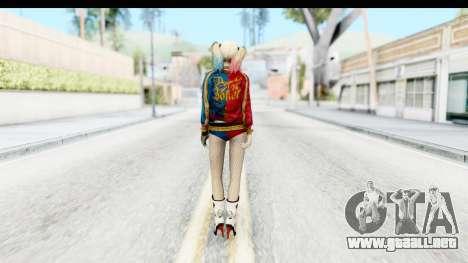 Suicide Squad - Harley Quinn para GTA San Andreas tercera pantalla