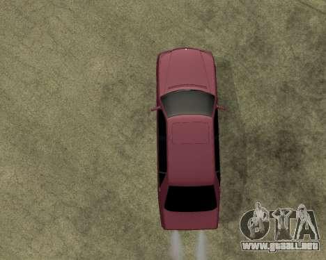 Mercedes S-600 Armenian para GTA San Andreas vista hacia atrás