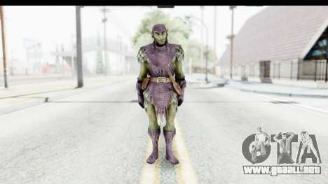 Marvel: Ultimate Alliance 2 - Green Goblin para GTA San Andreas segunda pantalla