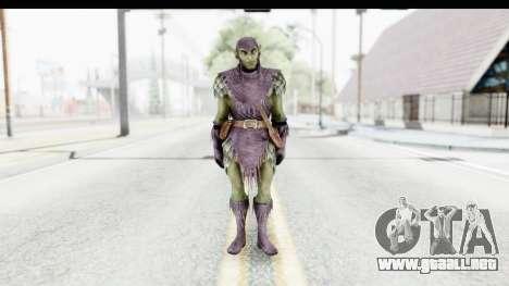 Marvel: Ultimate Alliance 2 - Green Goblin para GTA San Andreas segunda pantalla
