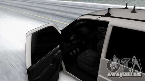 Mercedes-Benz Vito para vista inferior GTA San Andreas