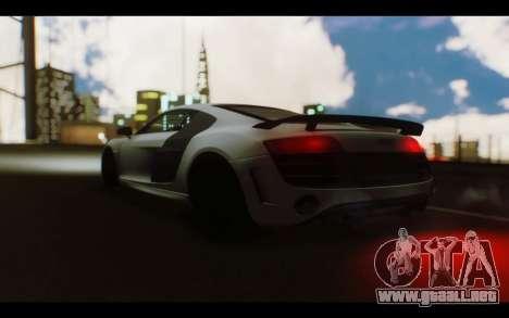 Audi R8 GT Sport 2012 para la visión correcta GTA San Andreas