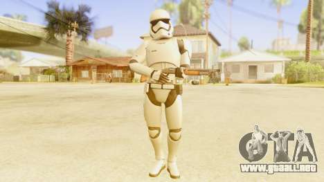 Star Wars Ep 7 First Order Trooper para GTA San Andreas tercera pantalla