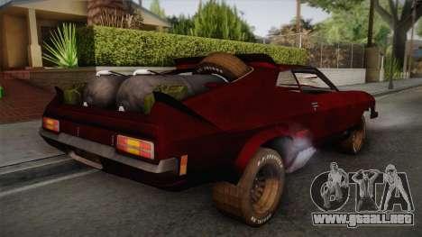 Ford Falcon XB Last V8 Mad Max 2 para GTA San Andreas left