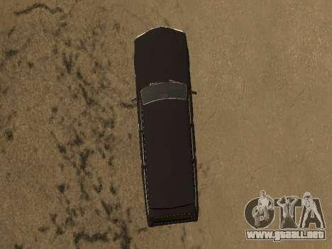 GAZ 310221 para GTA San Andreas vista posterior izquierda