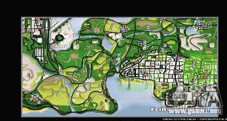 Remaster Map Full Version para GTA San Andreas sexta pantalla