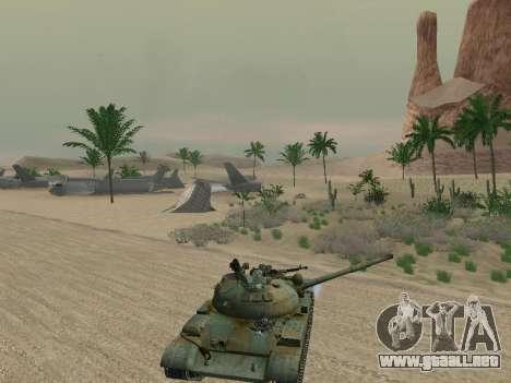 T-62 para las ruedas de GTA San Andreas