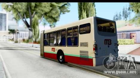 Metrobus de la Ciudad de Mexico Trailer para GTA San Andreas left