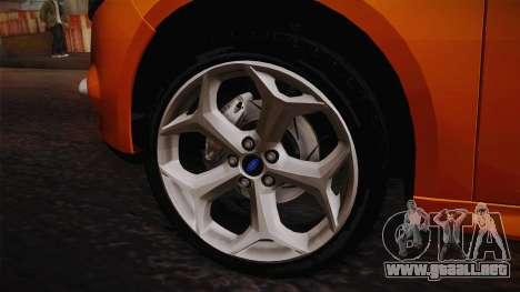 Ford Focus 2012 para la visión correcta GTA San Andreas
