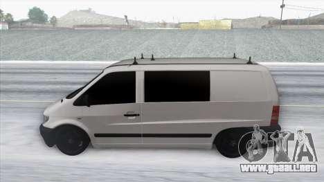 Mercedes-Benz Vito para la visión correcta GTA San Andreas
