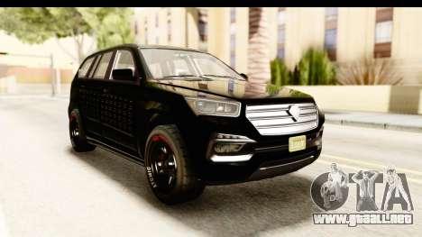 GTA 5 Benefactor XLS Armored para la visión correcta GTA San Andreas