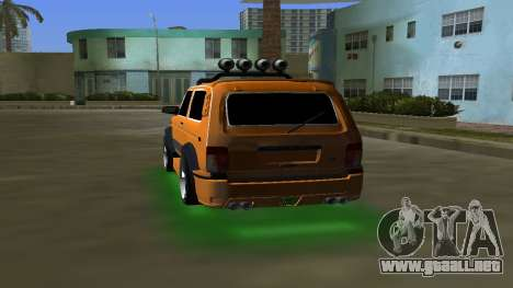 VAZ 21213 NIVA 4x4 Tuning para GTA Vice City vista lateral izquierdo