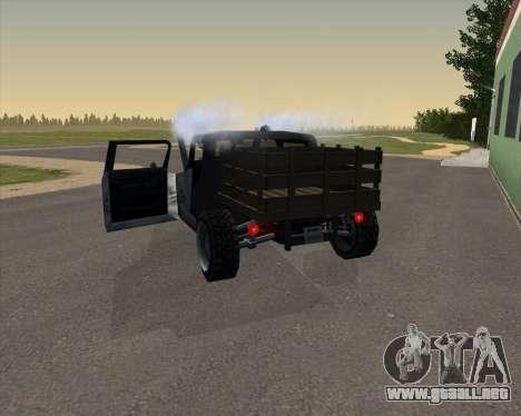 HotBaron para GTA San Andreas vista posterior izquierda