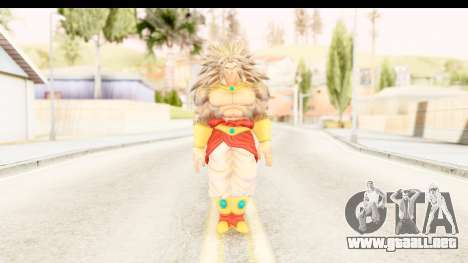 Dragon Ball Xenoverse Broly SSJ5 para GTA San Andreas segunda pantalla